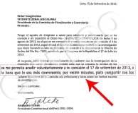 """Toledo dice que va por 20 minutos a Fiscalización para compartir """"reflexiones"""""""