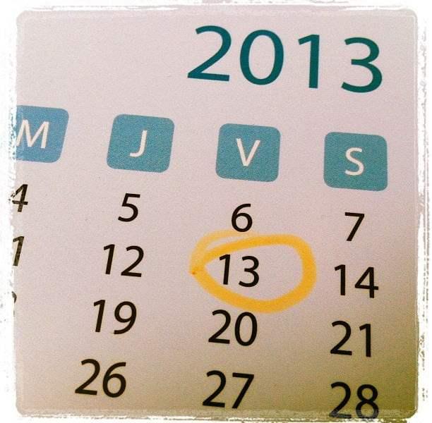 Hoy es Viernes 13, ¿eres supersticioso?