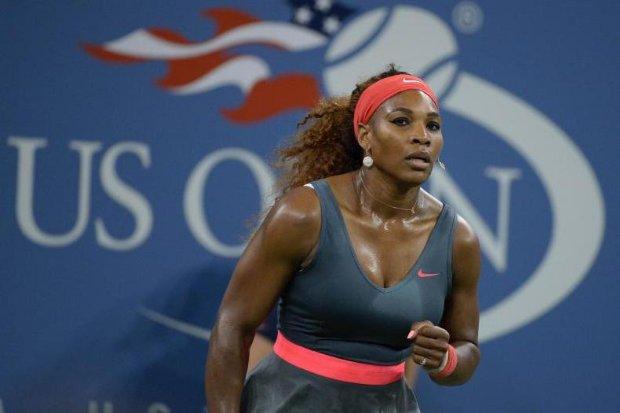 Serena Williams le regaló un doble 6-0 a la española Carla Suárez Navarro en el día de su cumpleaños.