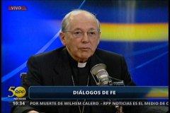 Cipriani considera 'tema cerrado' denuncias contra obispos por pedofilia y embarazo