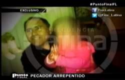 FOTO: Obispo Guillermo Abanto se reúne con su hija y la reconocerá