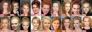 (FOTOS Daily Mail) Nicole Kidman: El antes y después de un rostro que superó al tiempo