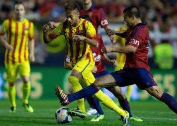 Barcelona es puntero absoluto en España tras igualar con Osasuna.
