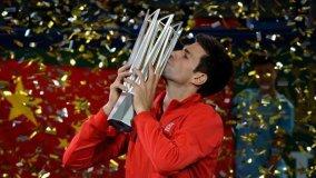 Djokovic ganó por segundo año consecutivo el Masters 1000 de Shanghái.