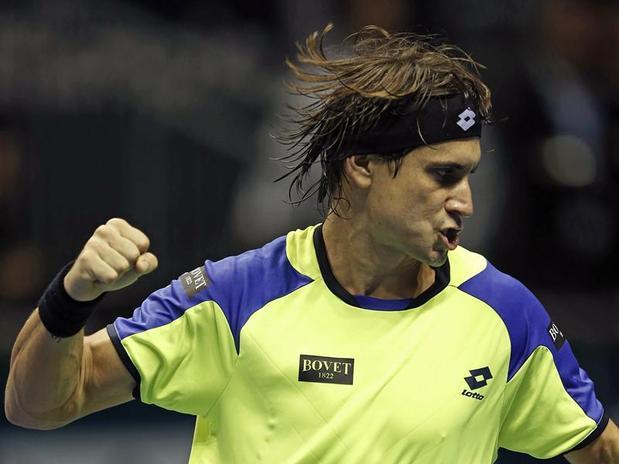 Ferrer sigue firme en su objetivo de retener el título del último Masters 1000 del año.
