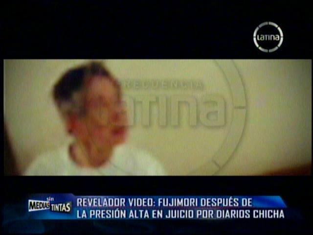 (Video) Así reaccionó Alberto Fujimori porque impidieron ingreso de Kenji a clínica