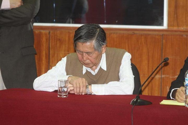 Juez rechazó arresto domiciliario para Alberto Fujimori