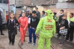 Gran incendio consumió un centenar de viviendas en el Callao