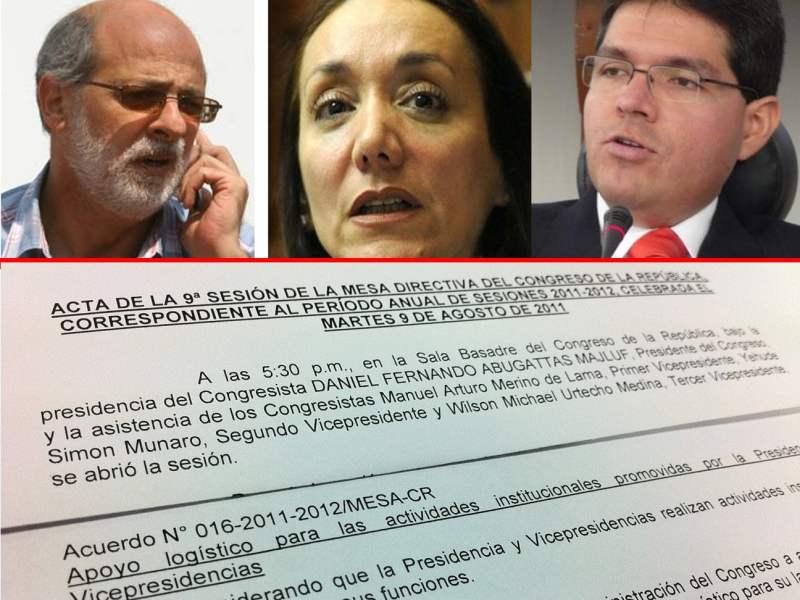 Denuncias contra Michael Urtecho, complican a Abugattás y ex Oficial Mayor