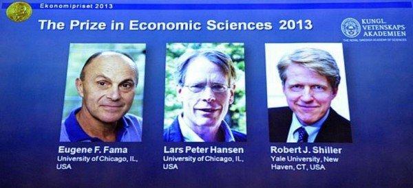 El Premio Nobel de Economía 2013 es para tres estadounidenses