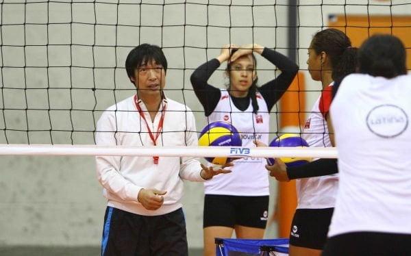 El coreano Sung Jin Hong enlodó la historia del vóley peruano.