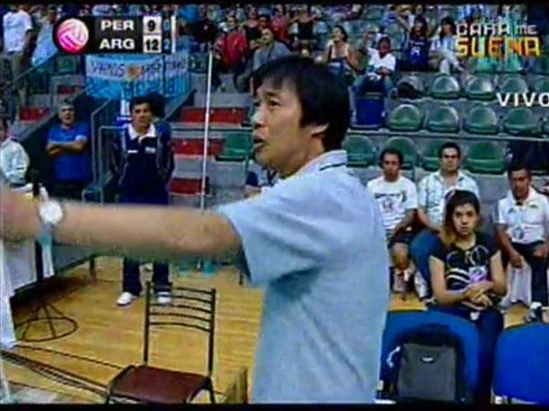 El coreano Sung Jin Hong dejará de ser oficialmente el entrenador de vóley de la selección de mayores.