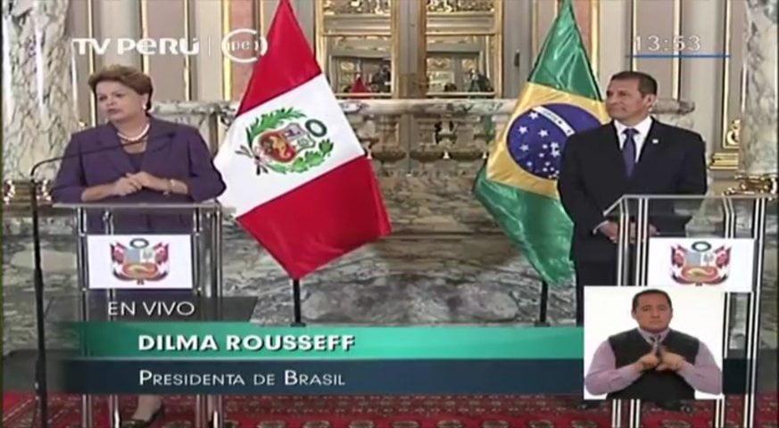 Humala quiere copiar 'farmacias populares' y programas sociales del Brasil en Perú