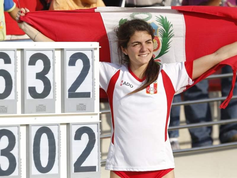 La peruana Paola Mautino se consagró en Salto de Longitud (largo).