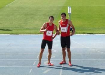 Los hermanos Mc Farlane subieron al podio bolivariano.
