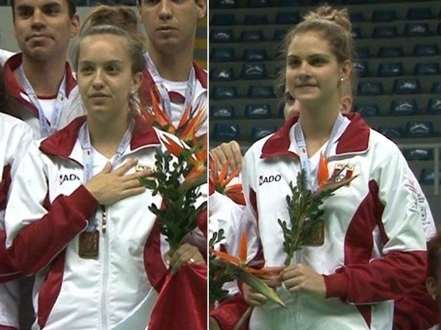 Las badmintonistas Winder y Zornoza se consagraron en los Bolivarianos.