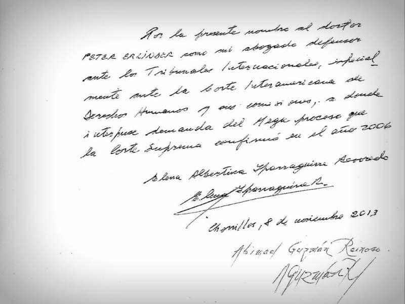 Abimael Guzmán envía carta y acredita abogado que lo defenderá ante Corte IDH