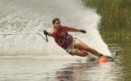 Delfina Cuglievan se  constituyó en la figura nacional al obtener hasta el momento dos medallas de oro en los Juegos Bolivarianos.