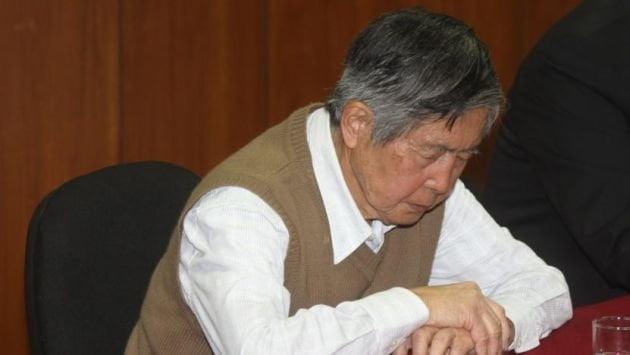 Alberto Fujimori se queda en la Diroes, PJ rechaza arresto domiciliario