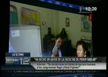 Fujimori en problemas: Le quitan teléfono y confirman intervención de congresistas