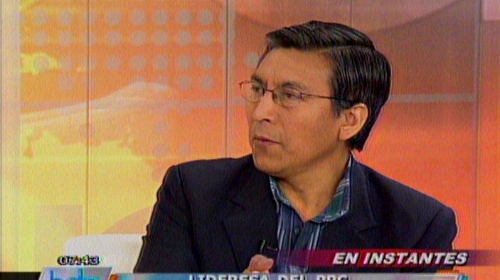 Hernando Tavera del IGP: