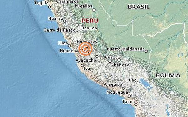 Sismo de 4.3 grados provoca alarma en la ciudad de Huancayo
