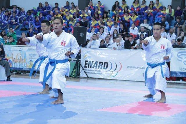 El karate peruano por equipos se consagró en los Bolivarianos.