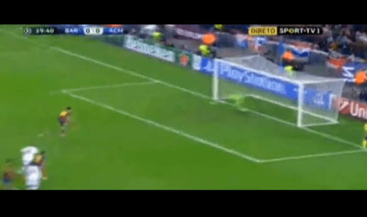 [VIDEO] Revive el gol de Leo Messi en el Barça vs Milan