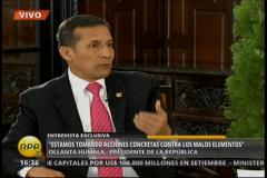 """Ollanta Humala: """"No conozco a López Meneses y no me asesoró en campaña"""""""