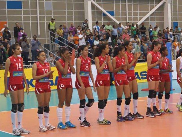 Perú no pudo contra las brasileñas en el Sudamericano de Colombia.