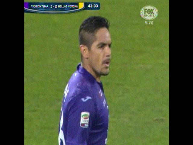 ¿Para Tilsa o Blanca? 'Loco' Vargas anota gol para el Fiorentina