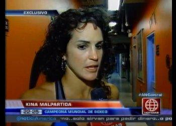 """[VIDEO] Kina Malpartida se aleja del box y sigue en Esto es Guerra"""""""