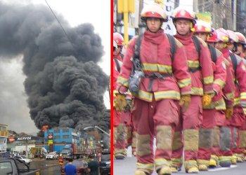 Foto referencial / Gran incendio en Huachipa moviliza a 17 unidades de los bomberos
