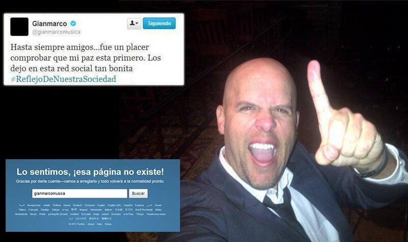 Gian Marco cerró su Twitter tras pleito con usuarios por pirotécnicos