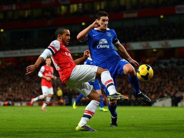 Arsenal y Everton igualaron en un partido donde los últimos 15 minutos fueron emocionantes.