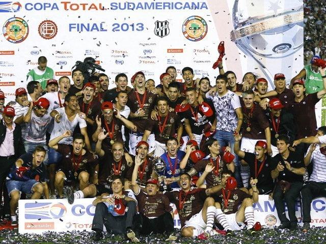 Lanús fue el mejor equipo de la Copa Sudamericana 2013.