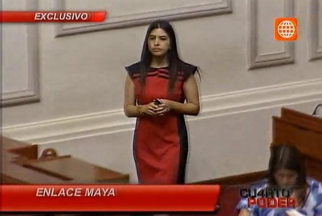 Bancada nacionalista es controlada por superasesora Malka Maya