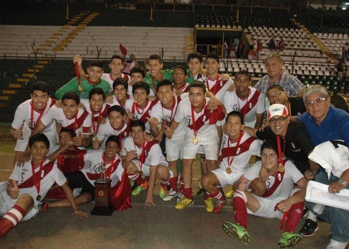 Por primera vez en la historia, Perú se consagró campeón sudamericano Sub 15 y de manera invicta.