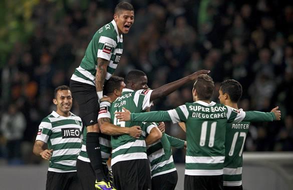 Sporting de Lisboa logró un importante triunfo que lo mantiene como líder absoluto del fútbol portugués.