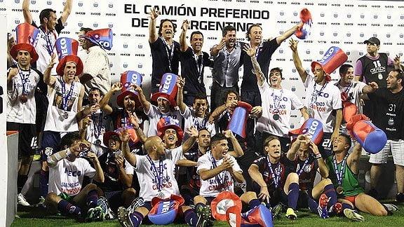 San Lorenzo celebró un nuevo título en Argentina.