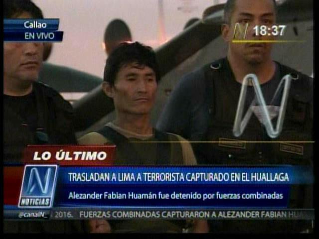 Sendero Luminoso está desapareciendo del Alto Huallaga estima general PNP
