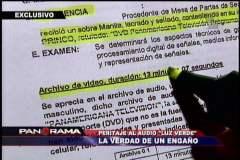 El colmo: Hicieron peritaje a reportaje de TV y no al audio de la 'luz verde'