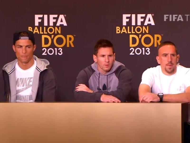 En Vivo: Siga la premiación del Balón de Oro 2013