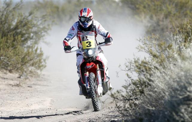 El español Barreda Bort ganó la etapa que tuvo a  la ciudad boliviana de Uyuni  como punto de llegada.
