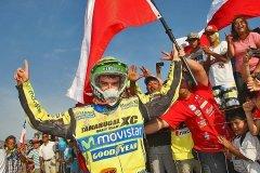 HISTORICO. Ignacio Casale logró el primer título para Chile en la historia del Dakar tras ser el mejor en la categoría Cuatriciclos.