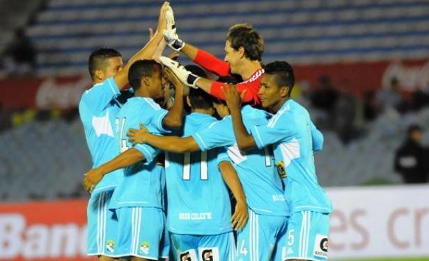 Con Diego Penny a la cabeza, Sporting Cristal celebró su pase a la final del torneo amistoso internacional que disputa en Uruguay.