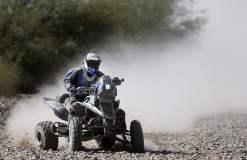 El uruguayo Sergio Lafuente viene sorprendiendo en el Dakar 2014 tras dominar la categoría Cuatriciclos.