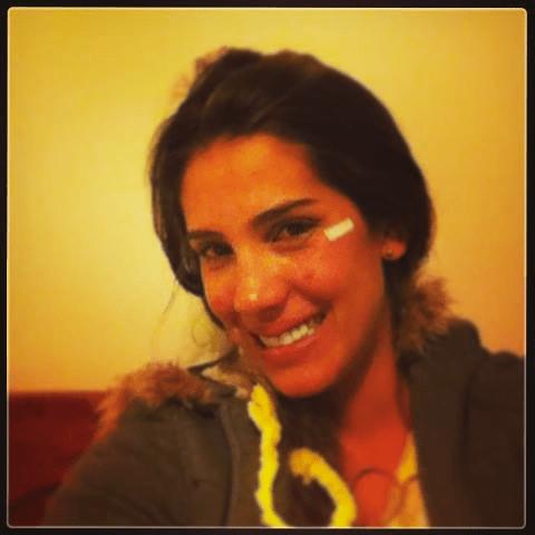 Modelo Vanessa Tello sí sufrió corte en el rostro pero niega agresión