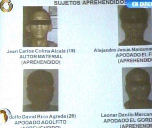 [FOTOS] Estos son los asesinos de Mónica Spear y su esposo