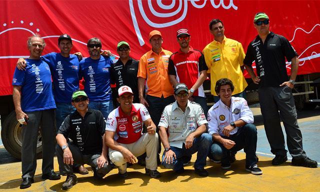 Esta es la delegación peruana que participó en la presente edición del Rally Dakar.
